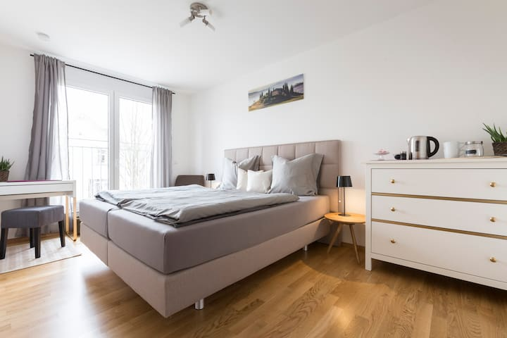 Cosy and sunny room - Bad Krozingen - Daire