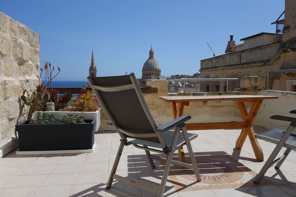 the terrace- exclusively for you !