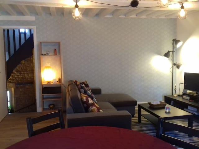 appartement atypique en duplex dans l'hypercentre