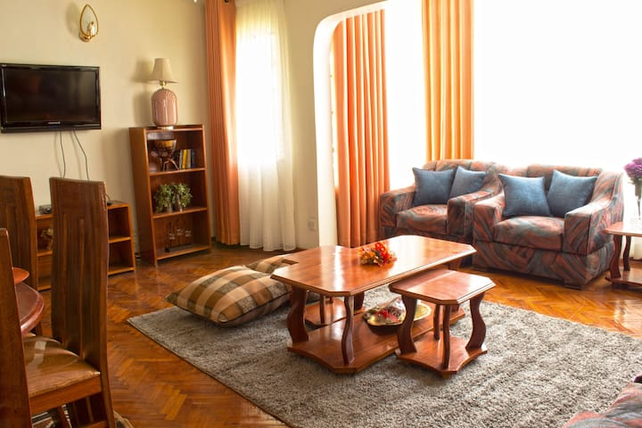 Nairobi Hill Elegance- Upper Hill 2 bedrooms