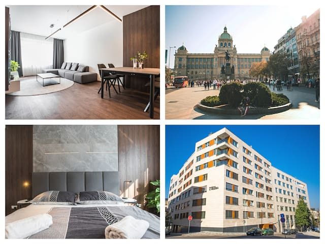 New Luxury Apt. + Parking, in the centre of Prague