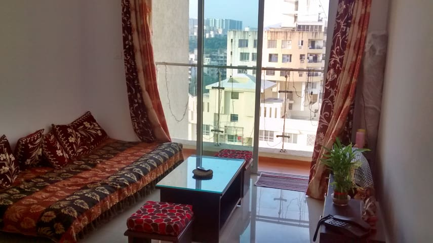 1 Private Bedroom A/C with attached Bathroom Powai - Mumbai - Appartement