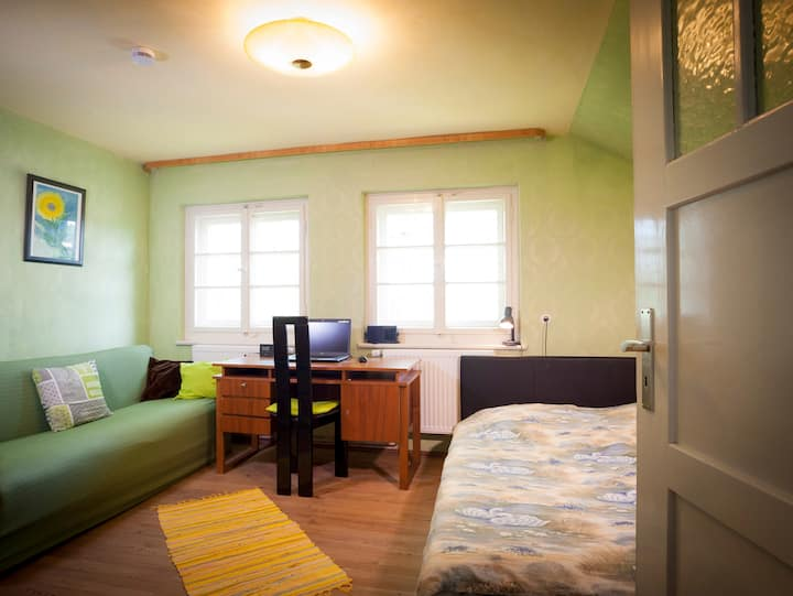 Single room mit Vintage Charakter