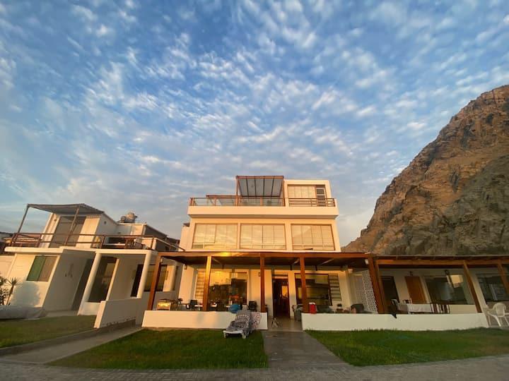 Casa frente al mar (primer piso) - Playa Bujama