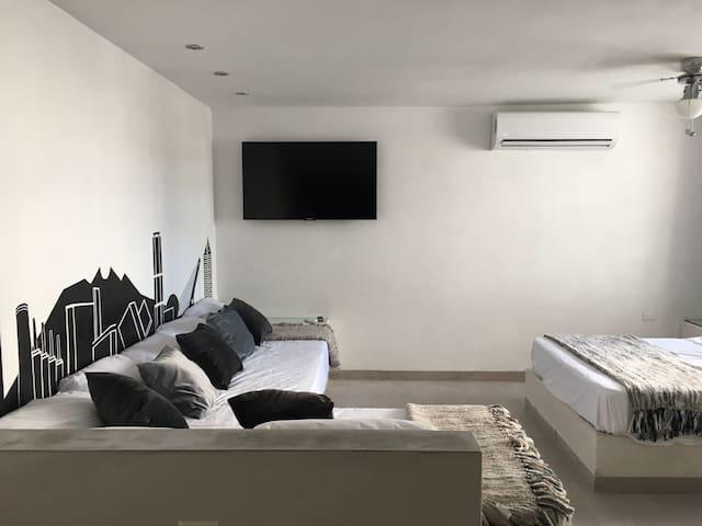 Suite B&W | Aeropuerto y Centro Apodaca (Factura)