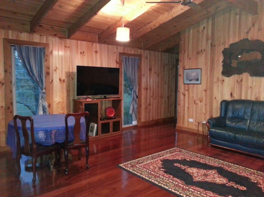 Jacaranda House lounge room