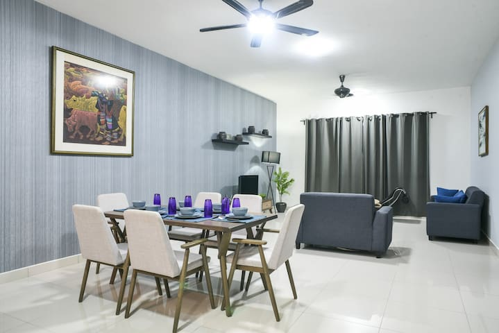 Cozy Family Suite ♠ 2BR♠ 4PAX♠ near Sunway Pyramid