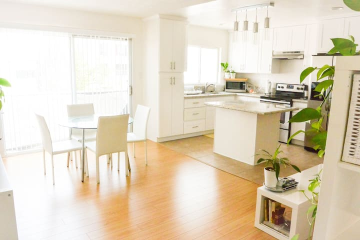 Bright, White, Clean 1BA+BR/Parking