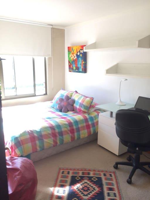 Habitacion cama 2 plazas