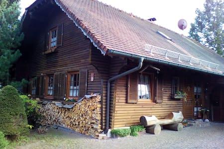 Hengstler' s Blockhaus ( nähe HFU,Messe,MH-Trossi) - Deißlingen - Wohnung