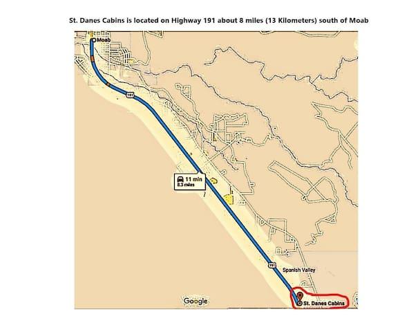 St Danes Cabins-Kokopelli Adobe Cabin-Near Moab