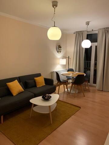 Art-inspired 1 Bedroom Apartment