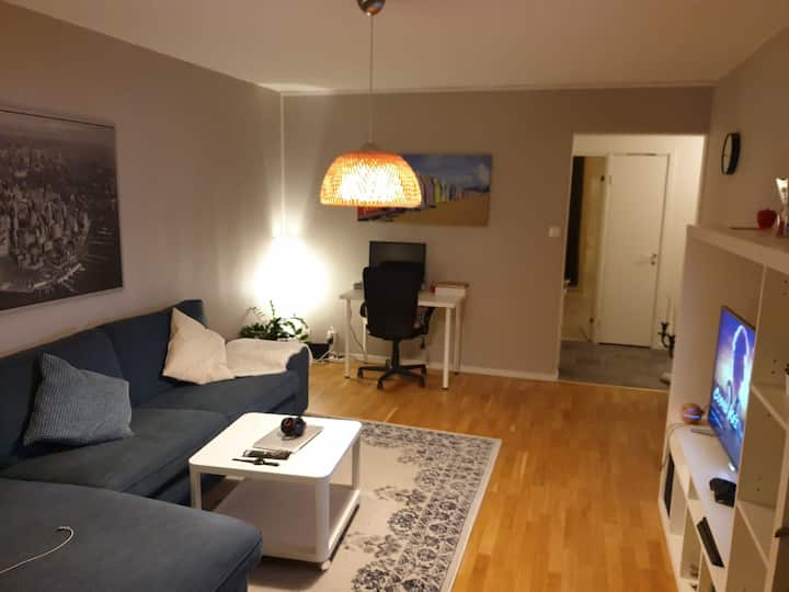 A calm and bright room in Karlskoga