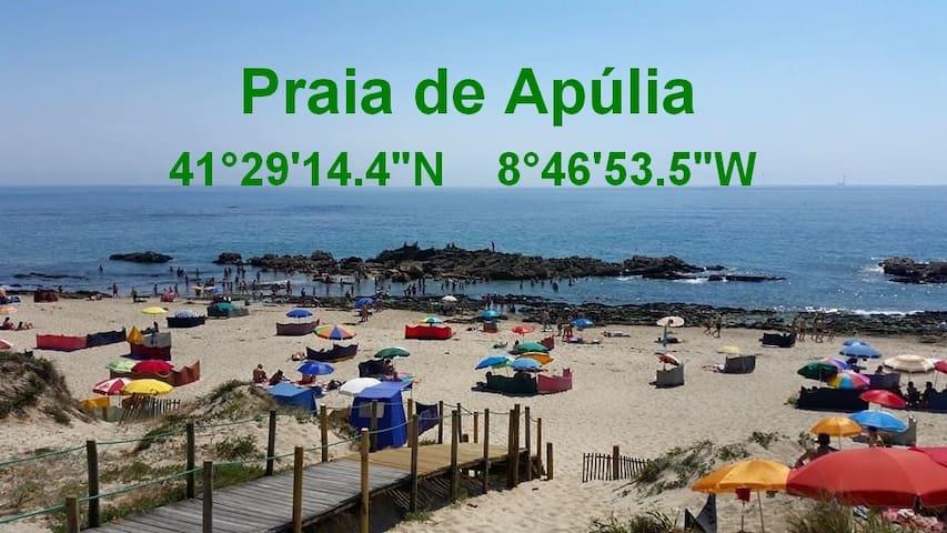 Férias - Praia de Apúlia/Braga.