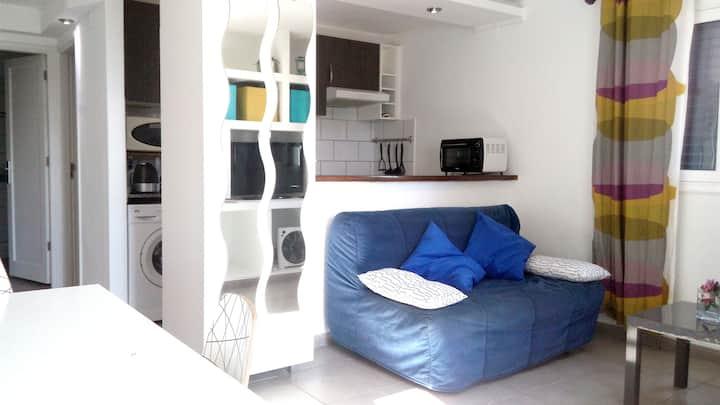 Modern Apartment in a private villa (rural area)