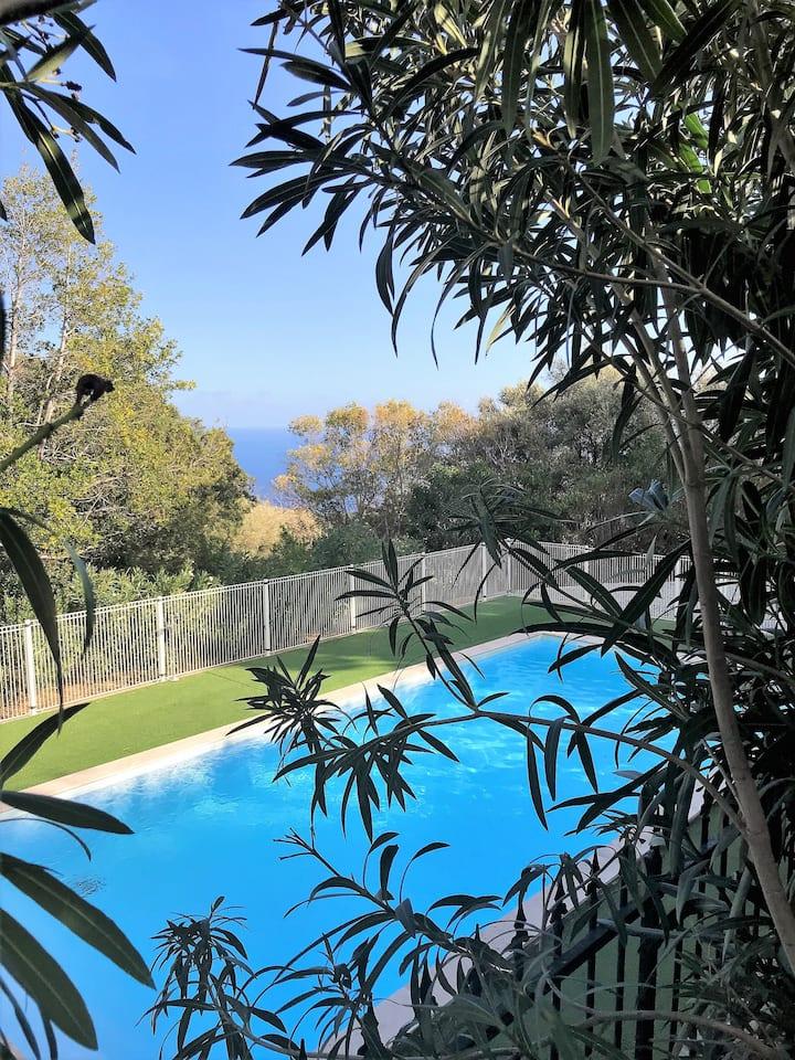 Maison F5 Haute de Bastia (Trois familles)