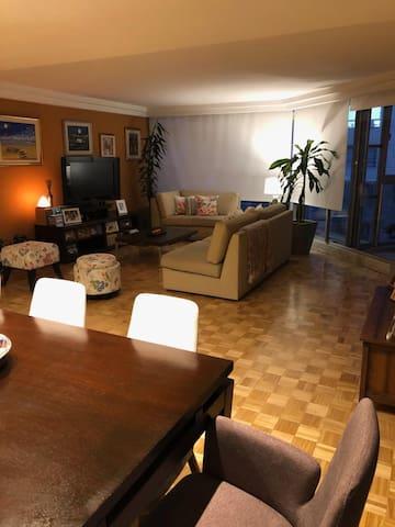 Habitación privada en hermoso apartamento