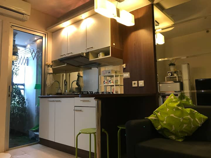 Nice &Comfy 2BR Apartment in SouthJakarta,Kalibata