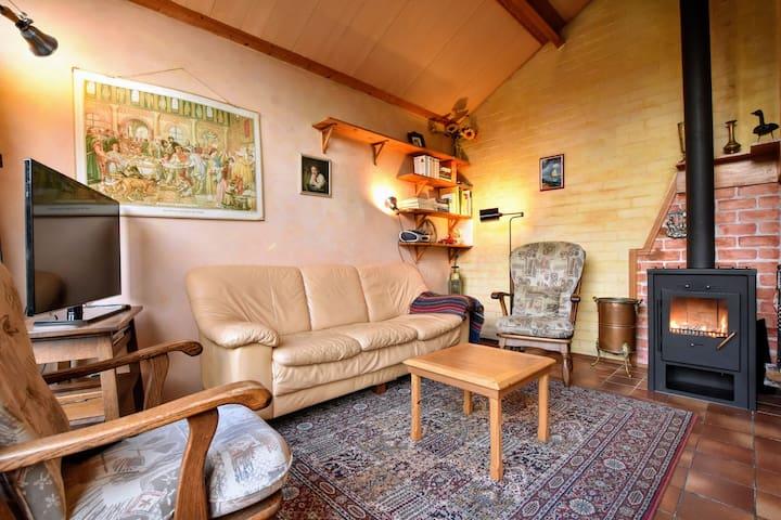 Freistehendes Ferienhaus in Guelders mit Garten