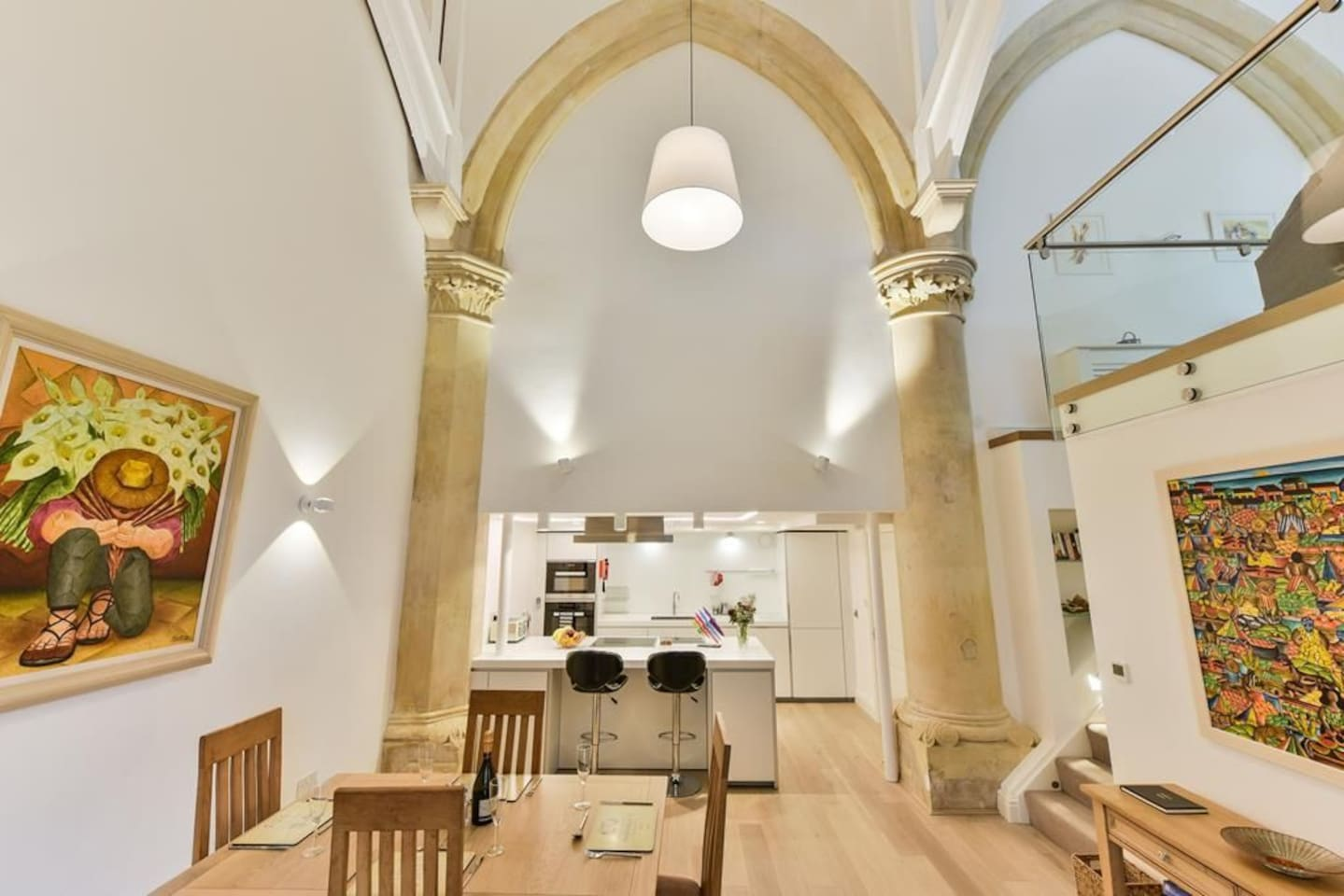 The Arches, Sleep 2, in city centre in old converted church building ...