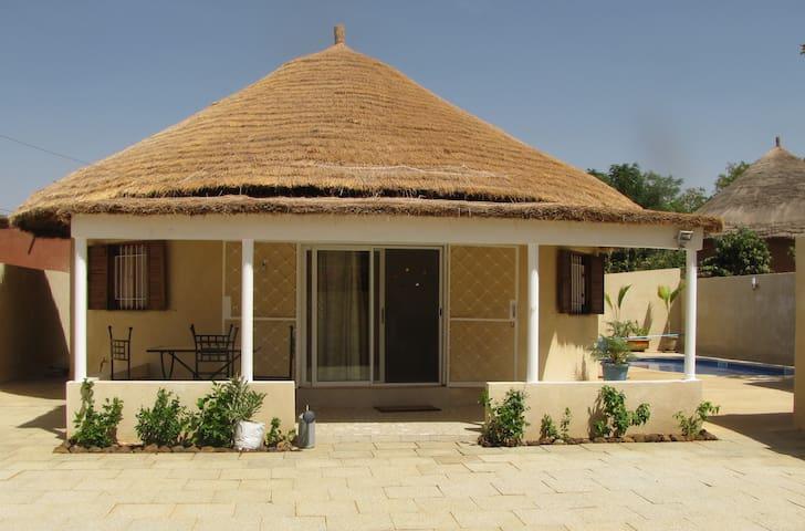 Villa Piscine Lagune Senegal Somone - Somone - Casa de camp