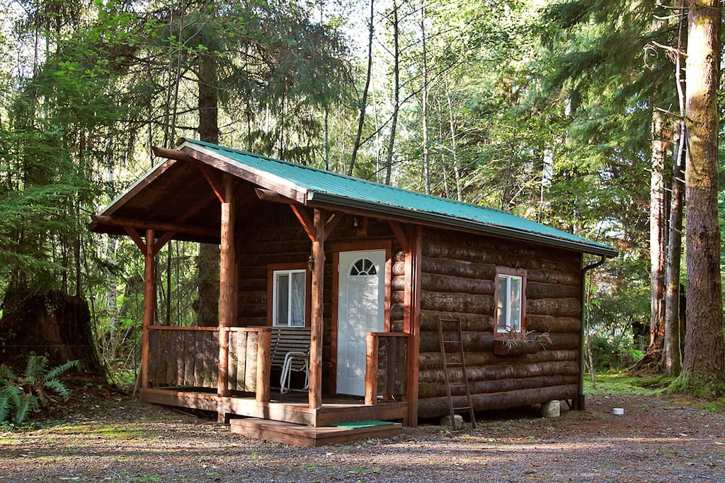 Trappers cabin cabins for rent in forks washington for Washington state cabins for rent