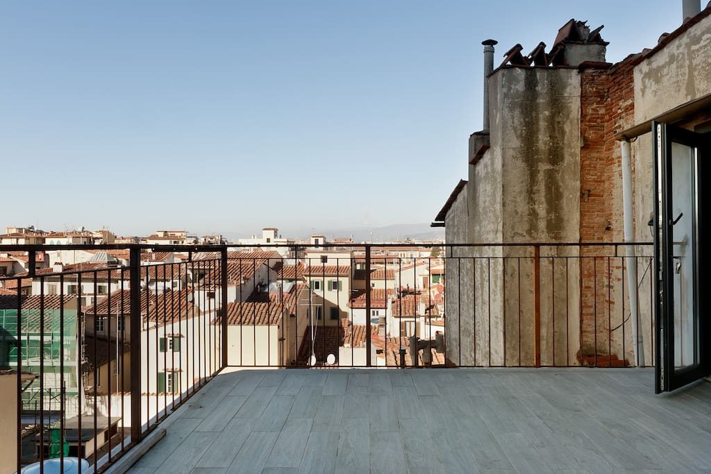 Una terrazza romantica su Firenze - Apartments for Rent in Florence ...