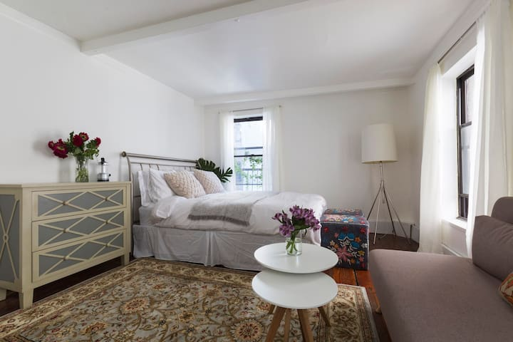 Cozy bright studio flat - Soho/Village - New York - Casa