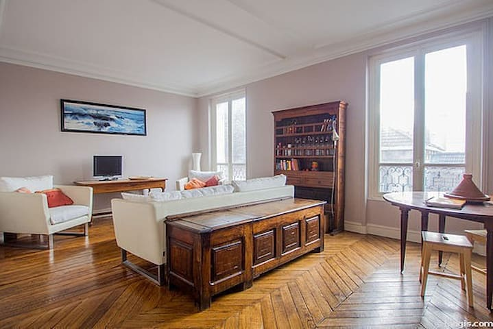 Perfect spot for couples with or without kids - Saint-Mandé - Appartement