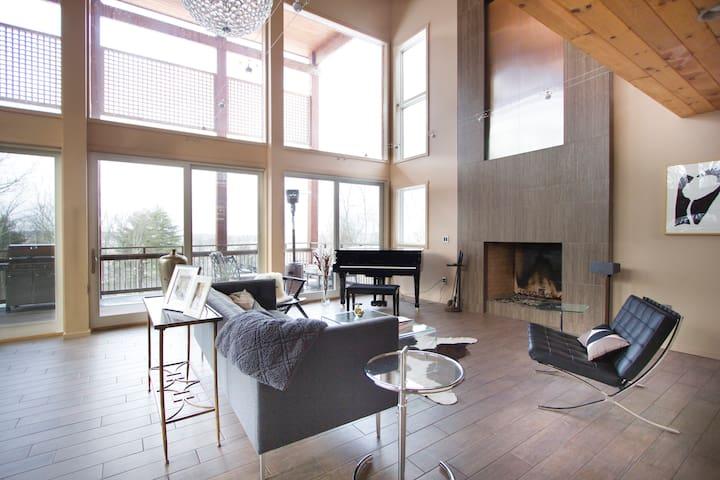 Modern Mountain Retreat w/ Indoor Pool!