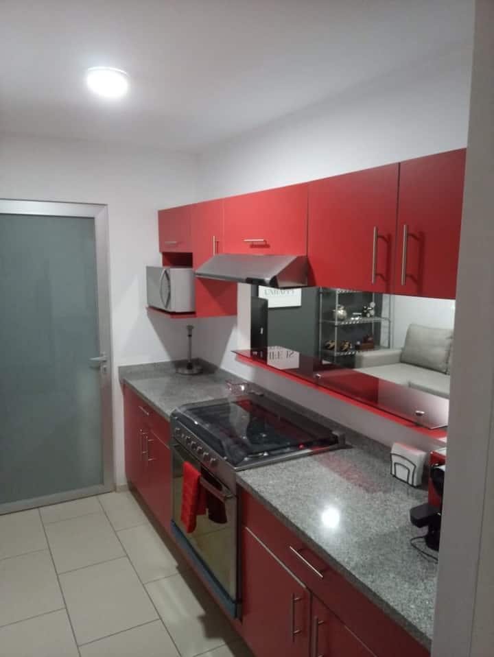 Estrena cozy apartment totalmente equipado