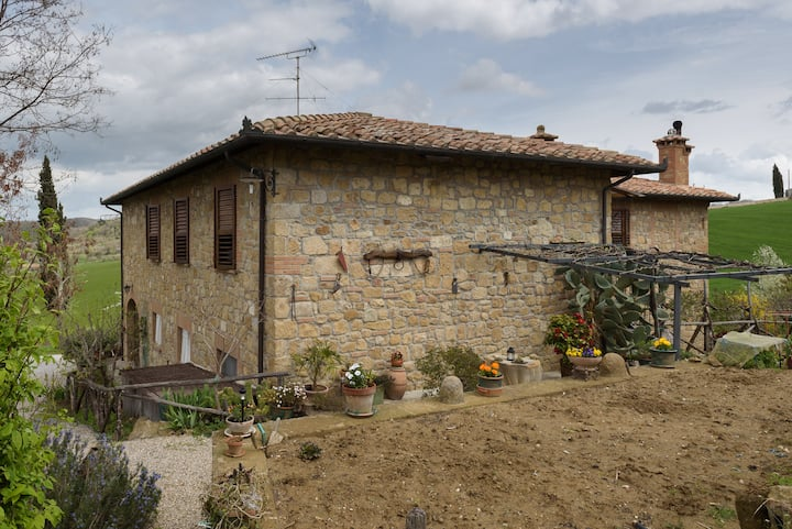 Camere in Val d'Orcia per 4 persone