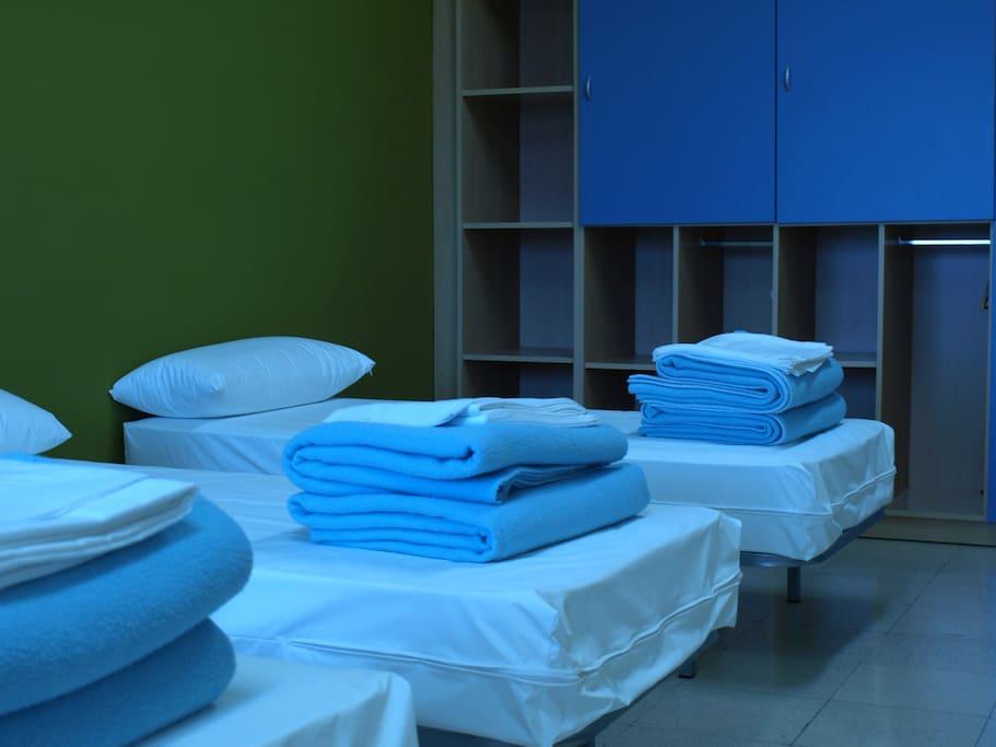 Ropa de cama proporcionada