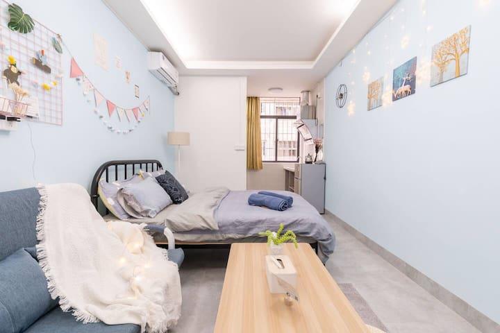 【新房特惠】可长租 华为/坂田地铁站 地中海小清新独立套房