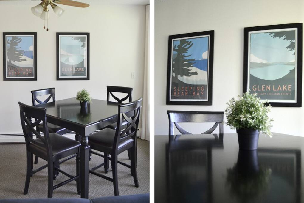 Your dining area with local art. acookscanvas-copyright2012-2017