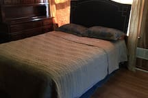 2483 Big bedroom with big deck  private entrance