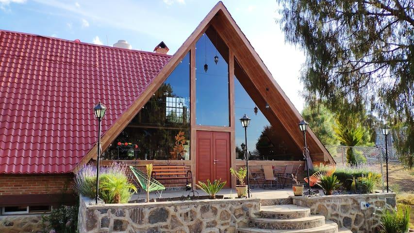 Cabaña Huasca Chalet | Cocineta, Billar, TV, WiFi