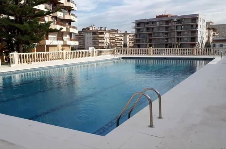 Apartamento cerca de la playa, para 6 personas.