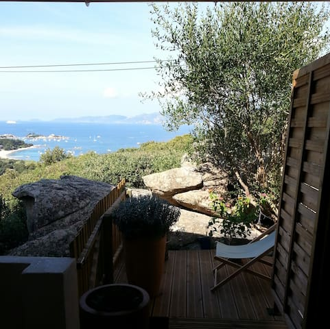 Maison charmante à  5mn de la plage , à pied - Pietrosella - 度假屋