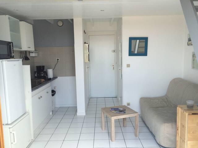 Appartement avec Balcon dans résidence de vacances
