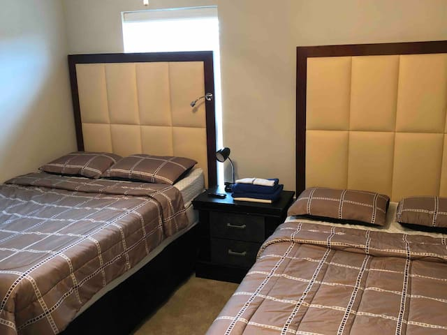 Private bedroom next to Mall