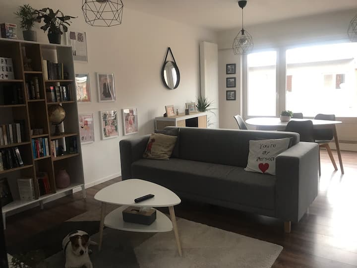 MODERN APARTMENT NEAR THE CITY WITH NETFLIX