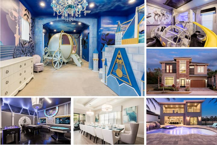 Luxury Reunion Mansion - Cinderella & Star Wars