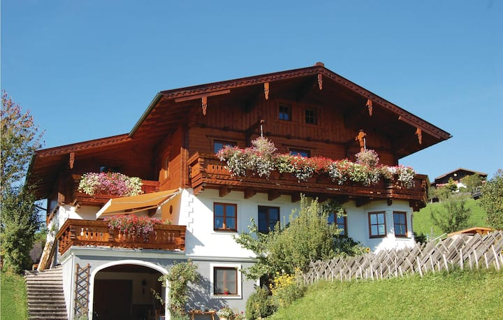 Awesome home in Flachau with WiFi and 2 Bedrooms
