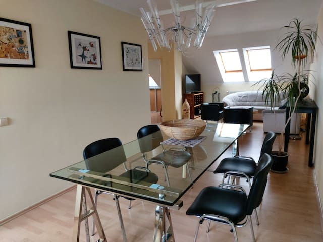 Bright apartment in a good, quiet residential area