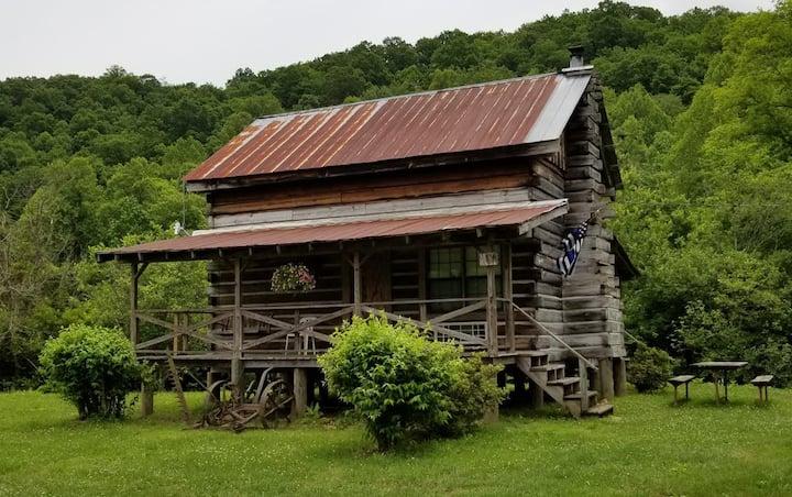 Rustic Log Cabin Rental on Coker Creek.