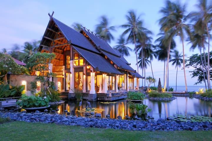 Ocean Front Villa in Jasri, Karangasem, East Bali