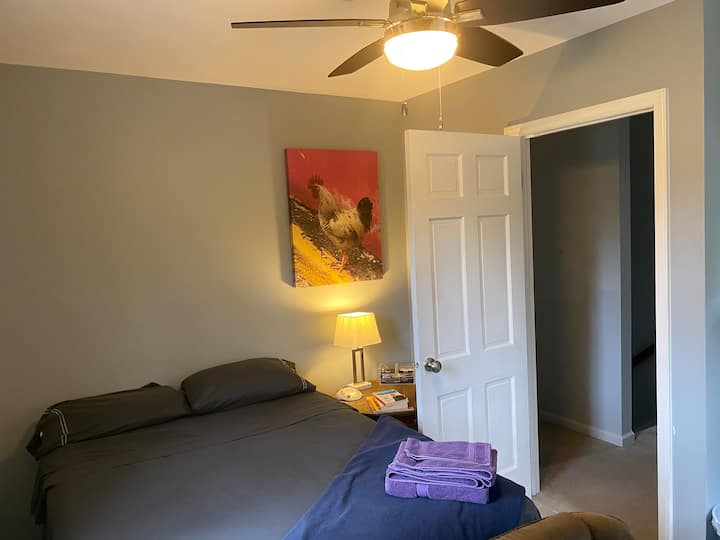 Office or Stay -Clean&Quiet, Close to UNC/Duke #2