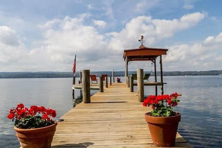 Cozy Lakeside Cabins on Seneca Lake #3