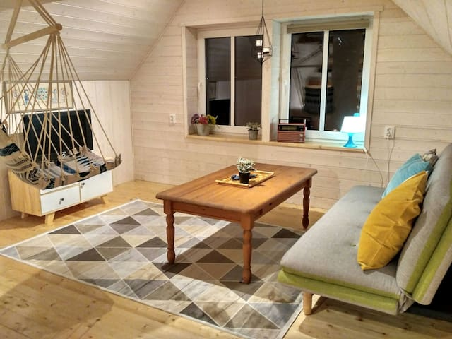 Charming Attic Suite next to Nature Reserve